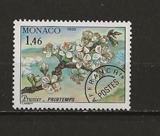 Monaco Préoblitéré Neuf  N° 106 Prunier Lot 49-40 - Prematasellado