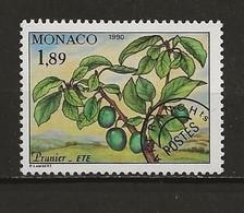 Monaco Préoblitéré Neuf  N° 109 Prunier Lot 49-41 - Prematasellado