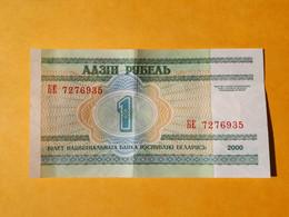 BIELORUSSIE 1 ROUBLE 2000 - Belarus