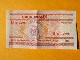 BIELORUSSIE 5 ROUBLES 2000 - Belarus