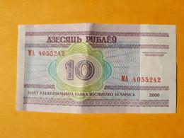 BIELORUSSIE 10 ROUBLES 2000 - Belarus