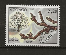 Monaco Préoblitéré Neuf  N° 113 Noyer Lot 49-46 - Prematasellado