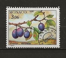 Monaco Préoblitéré Neuf  N° 108 Prunier Lot 49-48 - Prematasellado