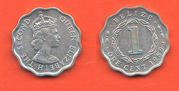 Belize One Cent 1989 British Territory - Belize