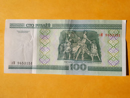 BIELORUSSIE 100 ROUBLES 2000 - Belarus
