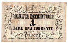 Governo Provvisorio Di Venezia - Moneta Patriottica 1 Lira 1848 - Other - Europe