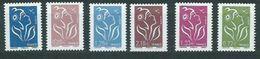 Año 2008  Nº4153/8 Marianne De Lamouche - Unused Stamps