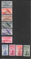 San Marino, 1946, Vedute Posta Aerea Serie Completa Posta Aerea Usata (Ref 1174c) - Used Stamps