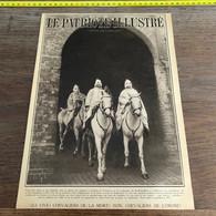 1932 PATI1 Page Couverture Chevaliers De La Mort Ku Klux Klan - Non Classés