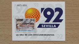 Spanien 1992 Mi-Block 43  Postfrisch - Blocs & Hojas