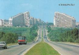 95290- CHISINAU SOUTHERN ENTERANCE TO THE CITY, BUSS, CAR - Moldavië