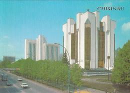 95293- CHISINAU PRESIDENTIAL PALACE, BUSS, CAR - Moldavië