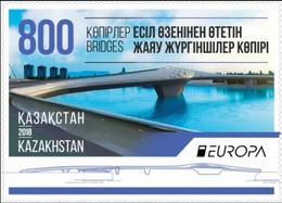 KAZAKHSTAN KASACHSTAN EUROPA CEPT 2018 Set/serie/Marke, Neuve/mint/postfrisch - 2018