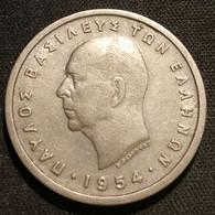 GRECE - GREECE - 5 DRACHMAI 1954 - Royaume - Paul Ier - KM 83 - Greece