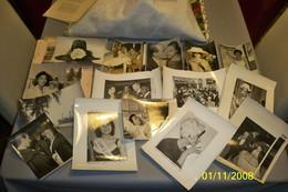 Lot 28 Photos A.F. P Etc Divers Thèmes ( Voir Détails ) Vintage 1960-61... - Albums & Collections