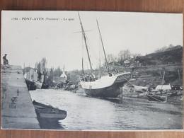 Pont Aven.le Quai.édition HLM 1386 - Pont Aven