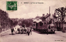 EURE - 27 - BERNAY - Le Train De Thiberville - Bernay