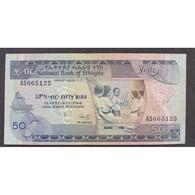 Ethiopie, 50 Birr 1987, XF - Ethiopia