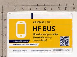 Horários Do Funchal - HF Bus - Europe