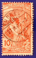 UPU 1900 Nr.78b Mit Voll ⦿ SURSEE 30 I 90 - Gebruikt