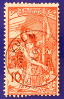 UPU 1900 Nr. 78B Mit Voll ⦿ UNTERKULM 17 X 00 - Gebruikt