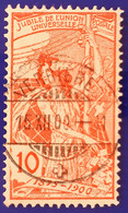 UPU 1900 Nr. 78B, Feld 70 Mit Voll ⦿ VERRIÈRES 15 XII 00 - Gebruikt