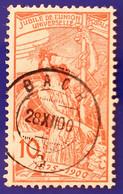 UPU 1900 Nr. 78B Mit Voll ⦿ BACH 28 XII 00 - Gebruikt