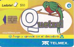 TARJETA DE MEXICO DE UN QUETZAL (PAJARO-BIRD) - Unclassified