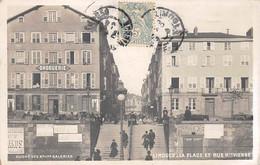 87 - N°75549 - LIMOGES - La Place Et Rue Haute-Vienne - Droguerie - Limoges