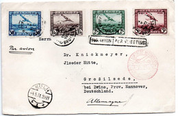 Belgique 4/5/1931 Enveloppe De Bruxelles - Pour Grossilsede - Par Avion - Airmail