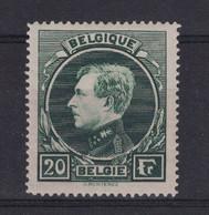 BELGIQUE - TIMBRE YT N° 290 NEUF * (CHARNIERE) Avec GOMME D'ORIGINE Au TYPE ALBERT 1er - Ongebruikt