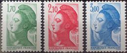 """R1507/401 - 1984 - TYPE """" LIBERTE """" De GANDON - SERIE COMPLETE - N°2318 à 2320 NEUFS** - Ongebruikt"""