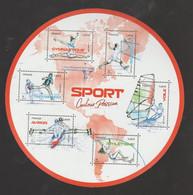 """FRANCE / 2020 / Y&T N° 5418/5423 ** Bloc Ou F5418 ** (2ème Feuillet """"Sport Couleur Passion"""" = Rouge) X 1 - Mint/Hinged"""