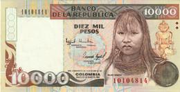 Colombia 10,000 Pesos 1993 #437A In UNC Condition - Colombia