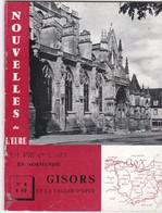 NOUVELLES DE L EURE  N° 8  1961   GISORS D27 - Toerisme En Regio's