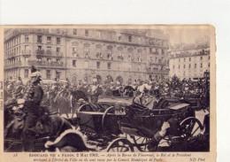 CPA - PARIS - N° 472 -  EDOUARD VII A PARIS LE 2 MAI 1903 - - Other