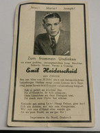Doodebiller Luxembourg WW2, Emil Heiderscheid, Diekirch 1942 - Unclassified