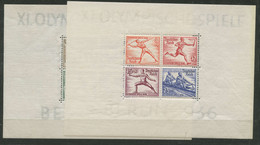 Allemagne Empire (1936) BF N 4 A 5 (Charniere) - Blocks & Sheetlets