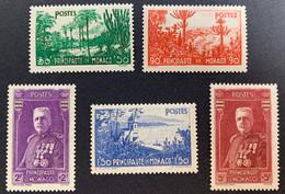 1937  Monaco  135/9 ** - Nuovi