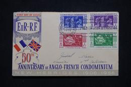 NOUVELLES HÉBRIDES - Enveloppe FDC En 1956 - L 95690 - FDC