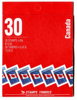 RC 20161 CANADA FLAG DRAPEAU CARNET COMPLET BOOKLET MNH NEUF ** - Full Booklets