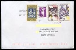 France Oblitéré Sur Enveloppe - Y&T N° 2701 Et 2703 - Arbre De La Liberté Et Saint Just - - Sin Clasificación