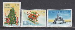 Finland 1998 - Christmas, Mi-Nr. 1457/59, MNH** - Nuevos