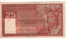 NETHERLANDS  25  Gulden   P84    1..07.1949   (  King Solomon ) - 25 Gulden
