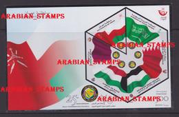 OMAN 2006 GCC SHEET JOINT ISSUE QATAR UAE SAUDI ARABIA BAHRAIN KUWAIT BF BLOC GULF COUNCIL GOLFRAT ** MNH MICHEL BL 39 - Emissioni Congiunte