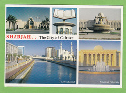 SHARJAH.. THE CITY OF CULTURE. 1 STAMP. - United Arab Emirates