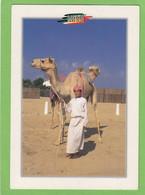 DUBAI. A YOUNG ARAB BOY WITH CAMEL.1 STAMP. - United Arab Emirates