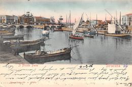Italia  -  SIRACUSA, Il Piccolo Porto, 1906 - Siracusa