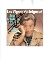 Jean Lefebvre -Les Vignes Du Seigneur --Barclay- AVEC DEDICACE - Humour, Cabaret