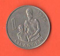 Swaziland 1 Lilangeni 1979  Nikel Coin - Swaziland